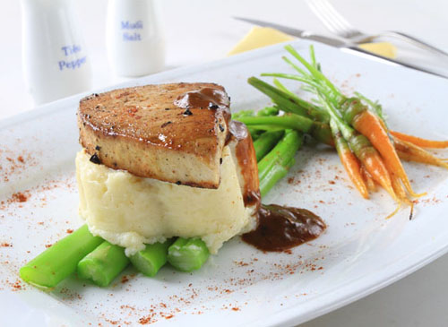 Kết quả hình ảnh cho steak cá ngừ